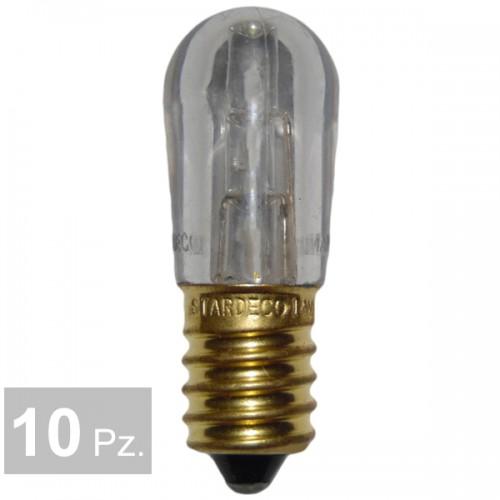 Lampade bianco caldo - conf. 10 pz