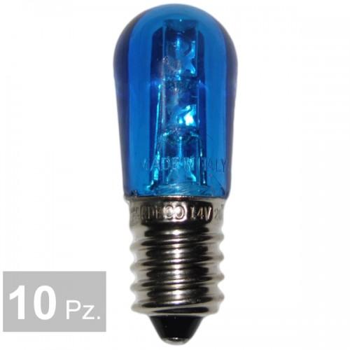 Lampade blu - conf. 10 pz