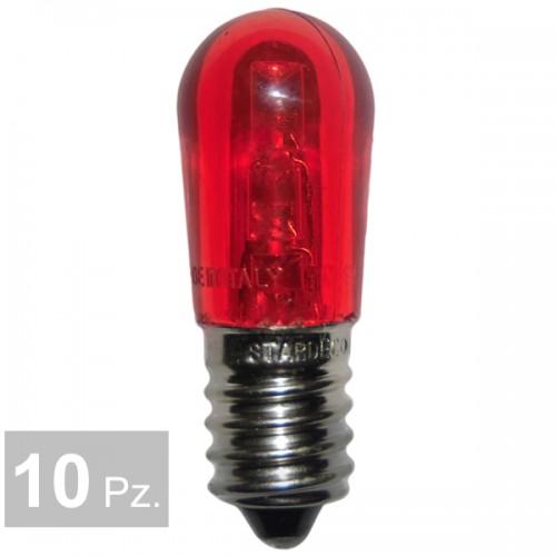 Lampade rosso - conf. 10 pz