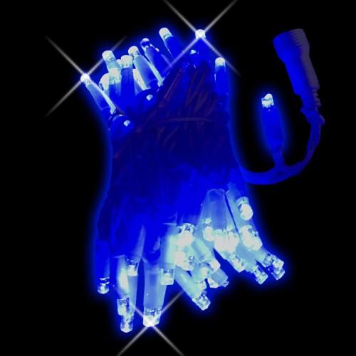 Stringa blu con flash 10mt - conf. 1 pz